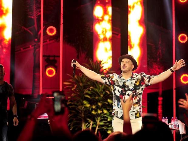 O cantor Wesley Safadão, que se apresenta na festa Sunset WS, neste sábado (6), em Brasília (Foto: Lino Vieira/Divulgação)