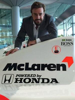 Fernando Alonso McLaren (Foto: Divulgação/McLaren)