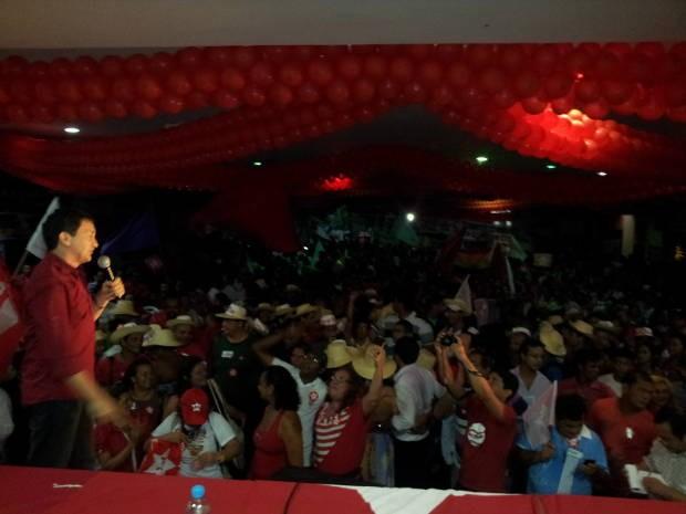Convenção do PT reuniu cerca de cinco mil pessoas  (Foto: Divulgação/PT)