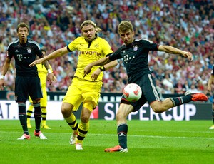 Muller, Bayern de Munique e Borussia Dortmund (Foto: Agência Getty Images)