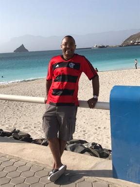 Dudu Nobre em Cabo Verde (Foto: Divulgação)