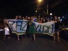 Protesto é realizado em local onde militar foi morto em Porto Alegre