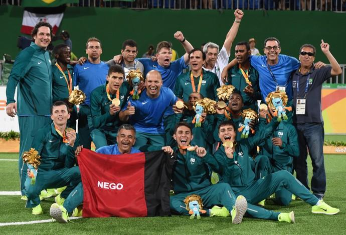 Brasil x Irã Futebol de 5 Paralimpíada Rio 2016 (Foto  André Durão) 72c7831322fbf