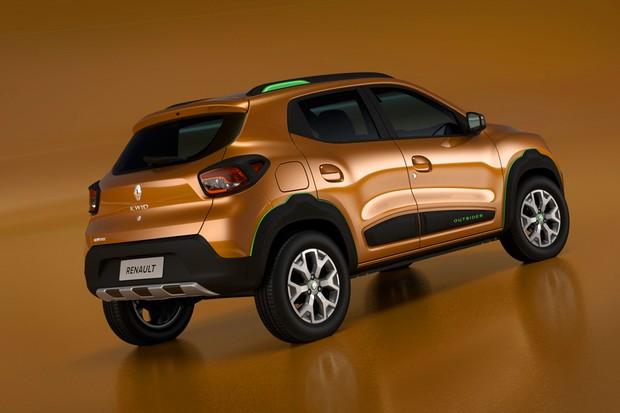 A segurança do Kwid brasileiro foi reforçada pela Renault (Foto: Divulgação)