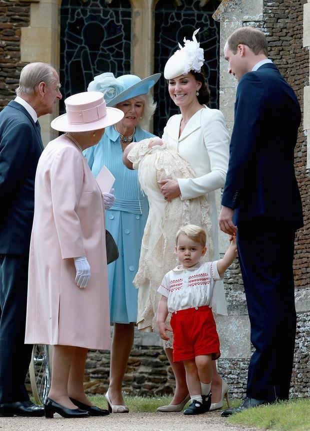 Batizado da Princesa Charlotte - George (Foto: AFP)