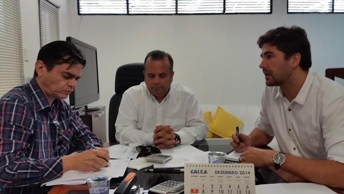 Bira Marques, Rogério Marinho e Rodrigo Pastana - ABC (Foto: Divulgação/ABC)