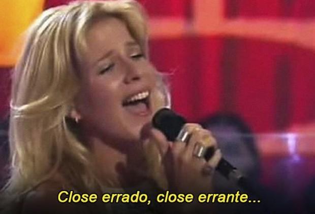 Paula Toller no meme do close errado (Foto: Reprodução)