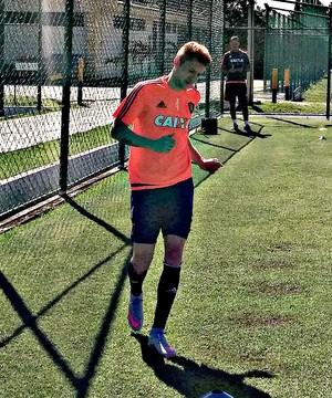 Ferrugem no Sport (Foto: Maurício Penedo)