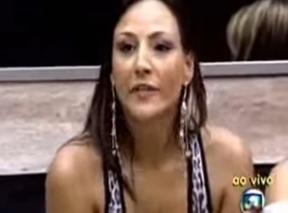 Analy veta o Anjo no BBB 7 (Foto: TV Globo)