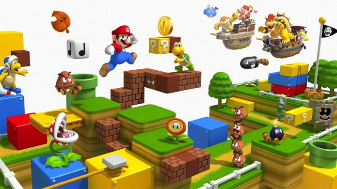 ... veja as maiores curiosidades sobre a famosa franquia. Confira os  melhores jogos do mascote Super Mario para o Nintendo 3DS (Foto  Taringa 8d8a4eac9b4