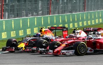 """""""Prefiro jogá-los para fora da pista"""", diz Verstappen sobre dupla da Ferrari"""