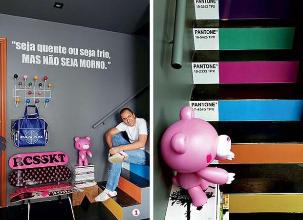 banco de jardim frases: de Zanine, à venda na Micasa. Banco de papelão da Coi (Foto: Marcelo