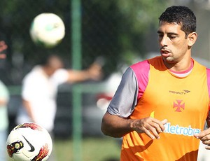 Diego Souza no treino do Vasco (Foto: Marcelo Sadio / Site Oficial do Vasco da Gama)