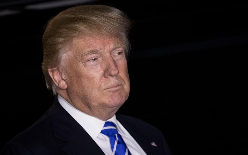 O presidente eleito nos EUA, Donald Trump (Foto: Drew Angerer/Getty Images/AFP)