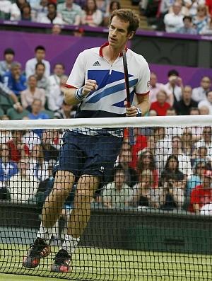 Andy Murray tênis Wimbledon Londres 2012 1r (Foto: Reuters)