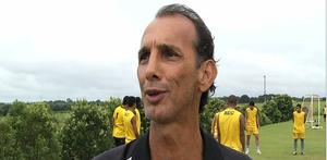 Izaze Emílio, treinador demitido do Rondonópolis (Foto: Reprodução/TVCA)