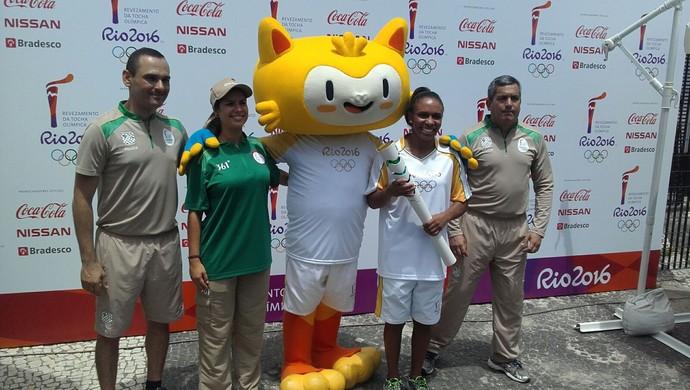 Érika Miranda - judô anúncio condutores tocha olímpica rio 2016 (Foto: Leonardo Filipo)