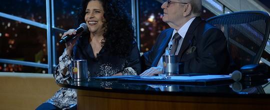 Jô Soares entrevista a cantora Gal Costa e o ator Arthur Haroyan