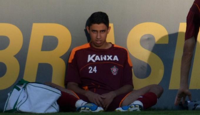 Kaiqui, zagueiro do Boa Esporte (Foto: Tiago Campos)