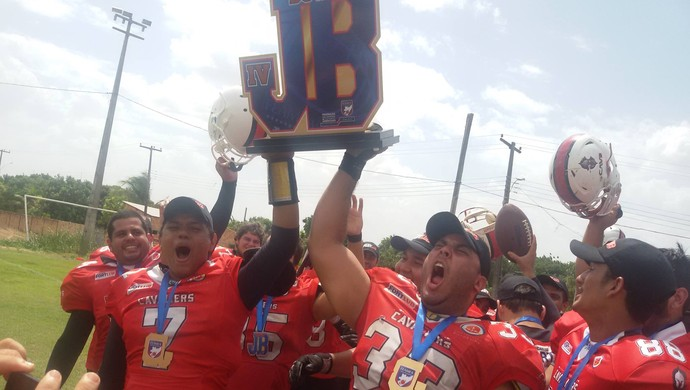 Manaus Cavaliers são campeões do 4º Jungle Bowl (Foto: Reprodução/Facebook)