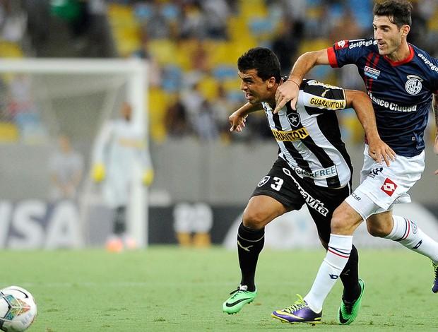 Edilson Botafogo x San Lorenzo (Foto: Dhavid Normando / Futura Press)