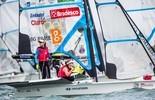 Martine Grael e Kahena Kunze assumem a vice-liderança no Mundial (Pedro Martinez - Sailing Energy)