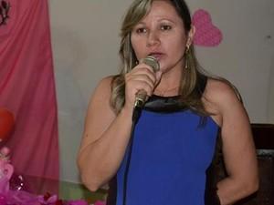 Primeira-dama foi encontrada morta na cama do casal (Foto: Sérgio Alves/Arquivo Pessoal)