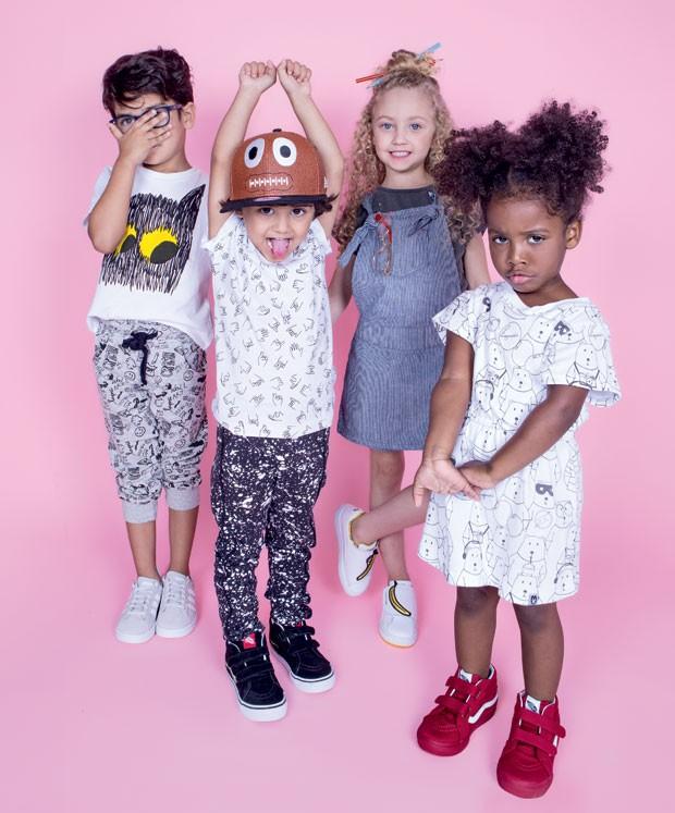 (Foto: Paula Perrier | Modelos: Max Fama/Kids)
