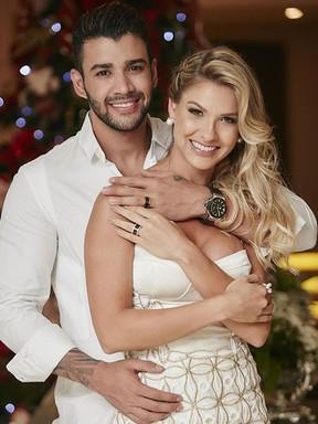 Gusttavo Lima e Andressa Suita se casam (Foto: Instagram/ Reprodução)