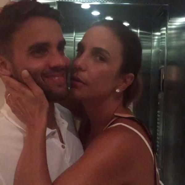 Ivete Sangalo e o marido (Foto: Reprodução/Instagram)