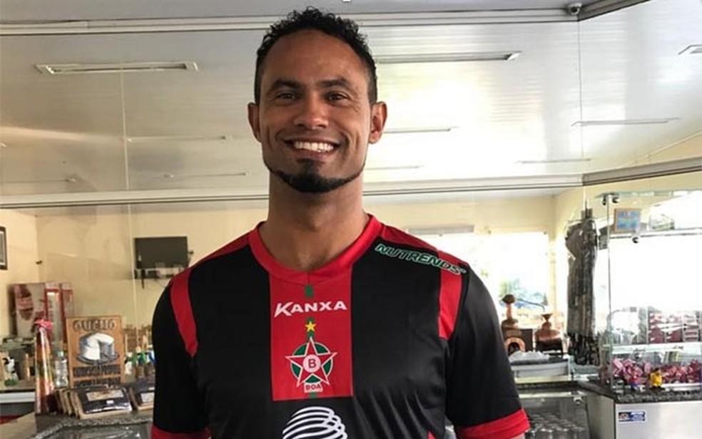 Bruno Fernandes integra o time do clube mineiro Boa Esporte (Foto: Lúcio Adolfo/Divulgação)