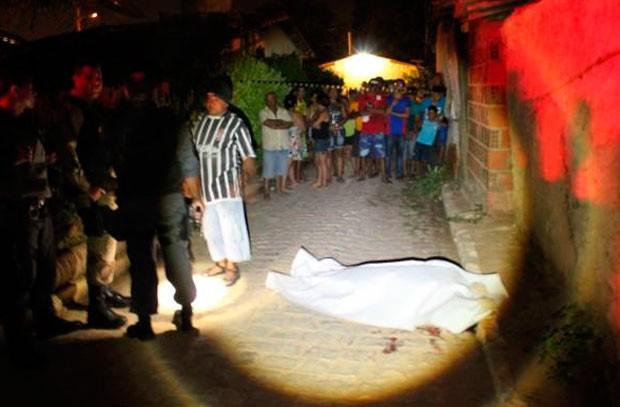 PM contabiliza 210 assassinatos em 2013 (Foto: Marcelino Neto)