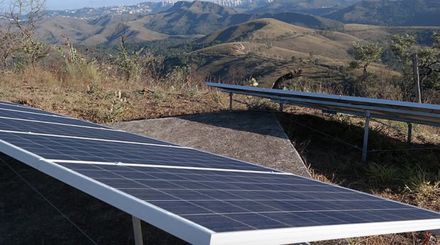 Instalação da SolarVolt; painél solar (Foto: Divulgação SolarVolt)