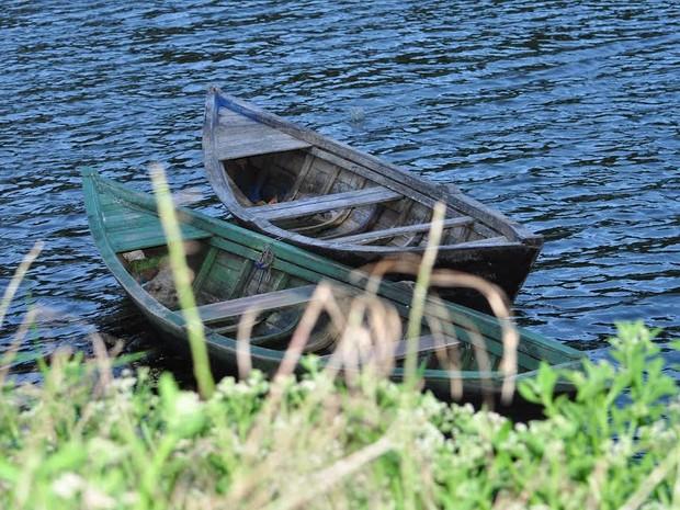 Barcos já podem navegar no açude General Sampaio (Foto: Antônio Carlos/Arquivo Pessoal)