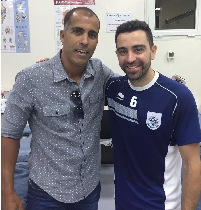 BLOG: Felipe visita Al Sadd, encontra Xavi e planeja voltar a trabalhar no Catar