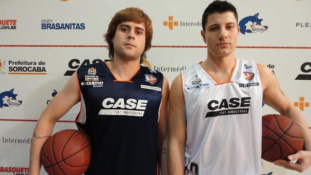 Thiago Marcello e Guilherme Schneider  (Foto: Divulgação / Liga Sorocabana)