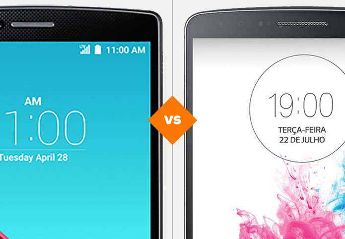 LG G4 ou G3: veja o comparativo e saiba a diferença entre os modelos (Foto: Arte/TechTudo)