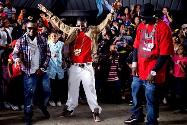 Soulja Boy no clipe da música 'Gucci Bandana' (Foto: Divulgação)