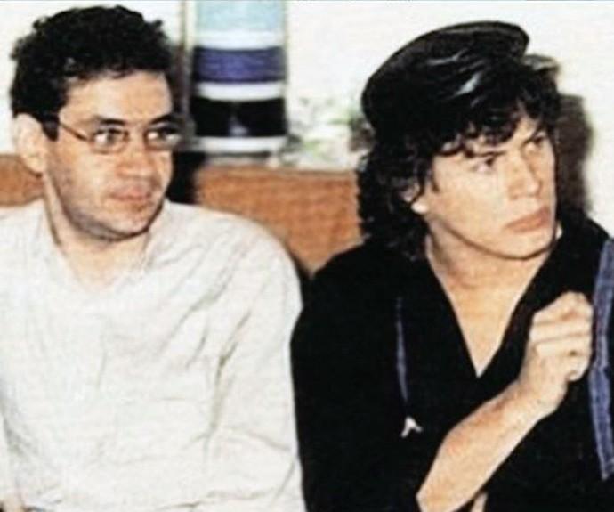 A dupla gravou uma parceria em 1996 (Foto: Arquivo Pessoal)