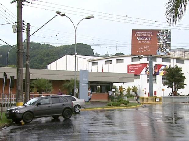 Unidade da Nestlé em Araras (Foto: Paulo Chiari/EPTV)