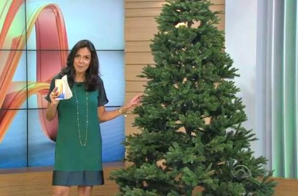 árvore de natal do JA (Foto: Reprodução/RBS TV)