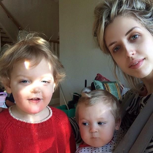 Peaches Geldolf com os filhos (Foto: Reprodução/Instagram)