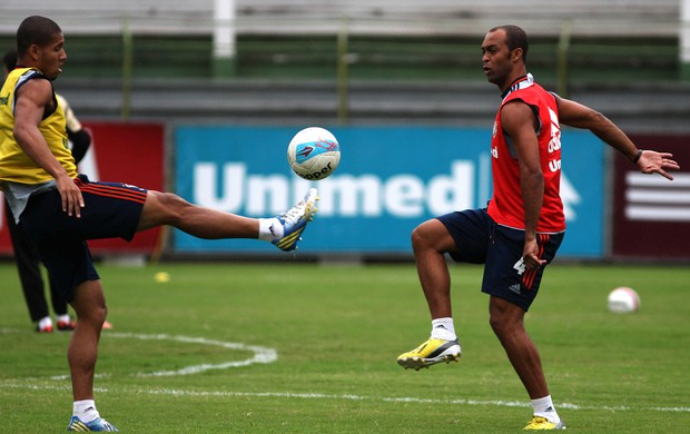 Leandro Euzébio treino Fluminense (Foto: Nelson Perez / Flickr do Fluminense)