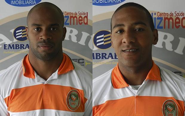 Anderson e Ramon, reforços do Camboriú (Foto: Lucas Henrique Coppi/Camboriú)