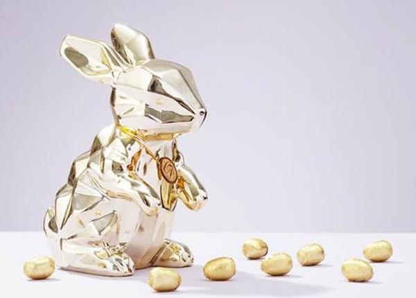 Coelho Golden, da Chocolat Du Jour (Foto: Divulgação)