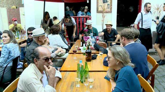 Turistas e capixabas aproveitam Festival de Jazz e Bossa Nova em Santa Teresa (Foto: Divulgação/ TV Gazeta ES)