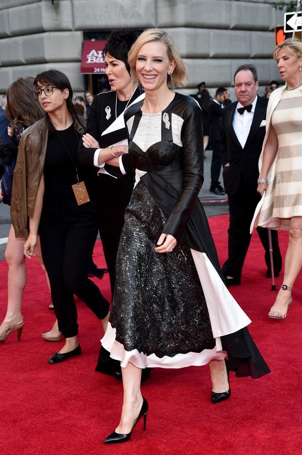 Cate Blanchett no Tony Awards (Foto: AFP)