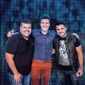 Rafael Vanucci, Rodrigo Faro e Cristiano Araújo (Foto: Reprodução/ Instagram)
