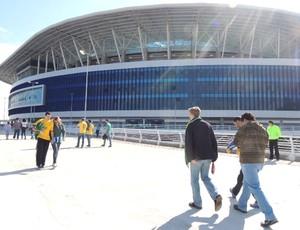 Torcida Brasil, Arena Grêmio (Foto: Lucas Rizzatti)