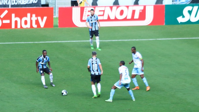Lincoln Douglas Grêmio Lajeadense  (Foto: Eduardo Moura/GloboEsporte.com)